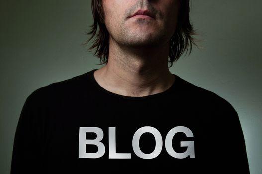 blog blogger blogging business casual caucasian