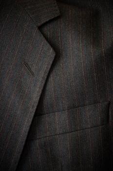 Business suit detail