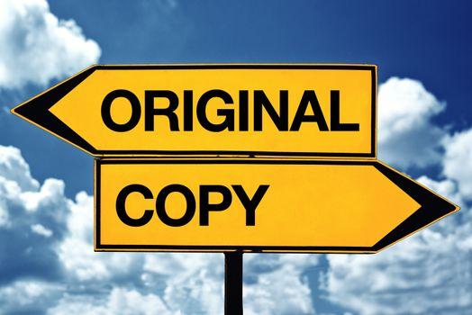 Oroiginal or copy