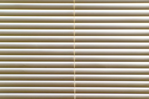 Venetian blinds on window, close up image as background.