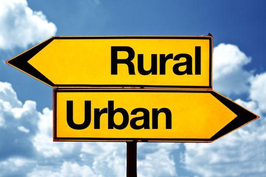 Rural or urban