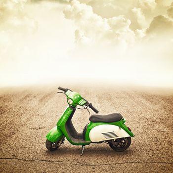 Mini motor bike for children