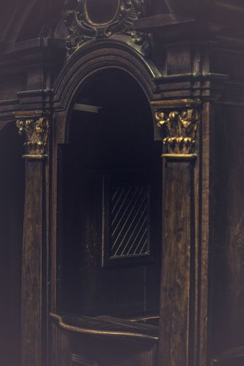 Church Confessional Booth