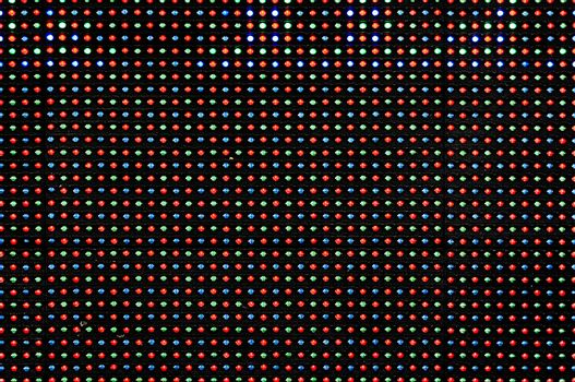 LED Display as Technology Background
