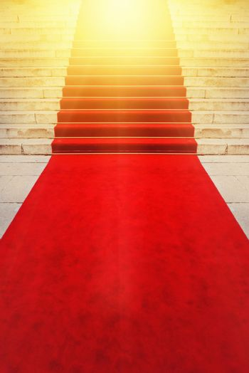 On Red Carpet Vip and Celebrities Concept