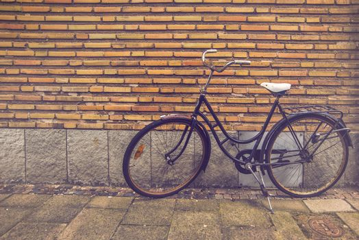 Classic Vintage Black Bicycle