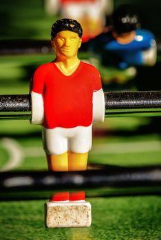 Vintage Table Soccer Player Figure