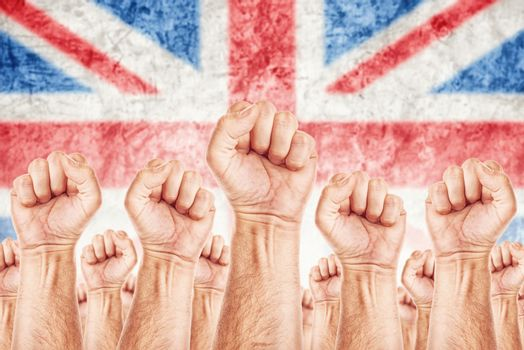 Great Britain Labour movement, workers union strike