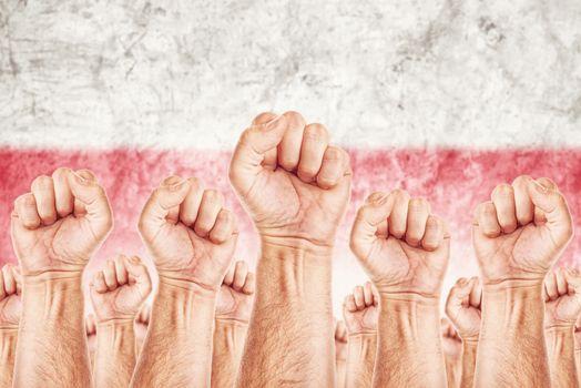 Poland Labour movement, workers union strike