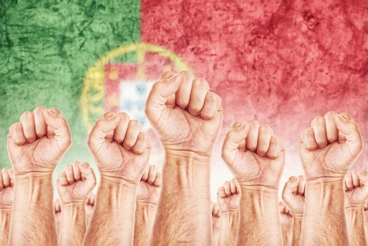 Portugal Labour movement, workers union strike