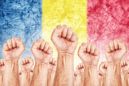 Romania Labour movement, workers union strike