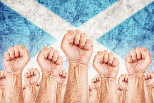 Scotland Labour movement, workers union strike