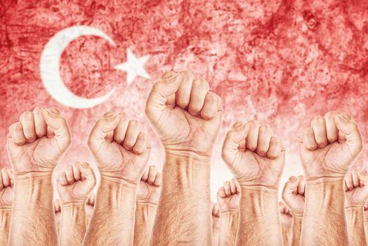 Turkey Labour movement, workers union strike