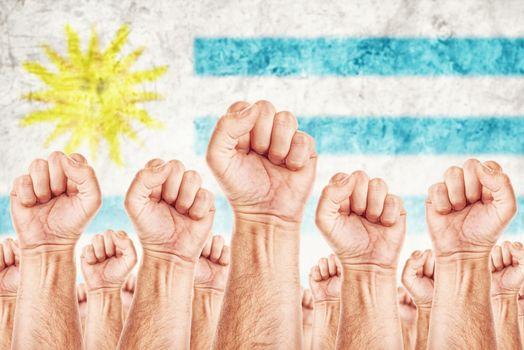 Uruguay Labour movement, workers union strike