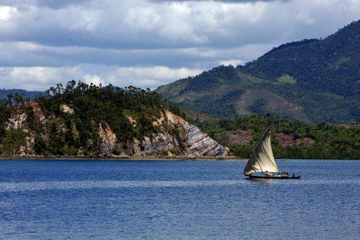 tropical lagoon hill