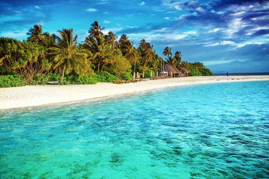 Beautiful paradise beach