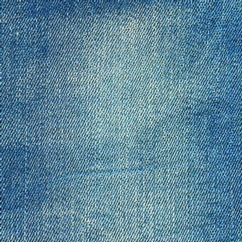 Denim texture. Light blue jeans vintage background