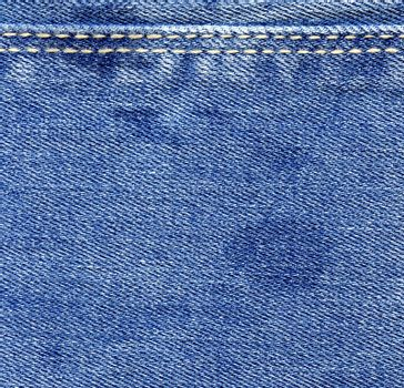 Blue jeans wet denim texture. Vintage background