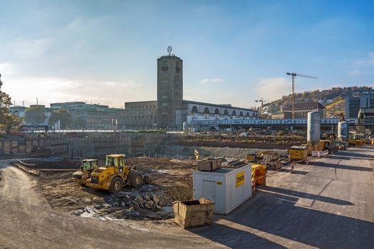 Stuttgart 21, S21 - railway project