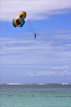 parachute mauritius belle mare