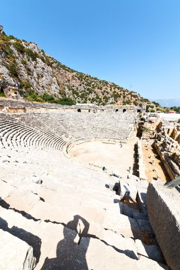 archeology   in  myra turkey  and indigenous