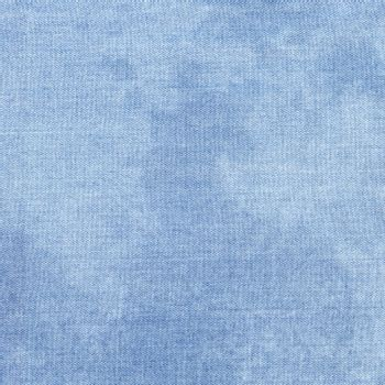Jeans Texture. Light Blue Creative Close-up Denim Surface
