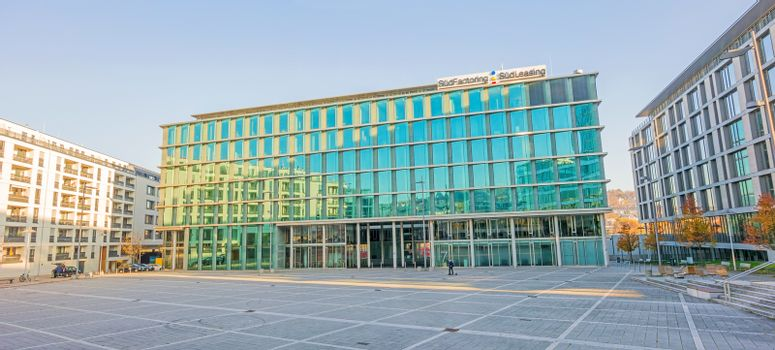 Financial Institution Sud Factoring / Sud Leasing at square Pariser Platz, Stuttgart