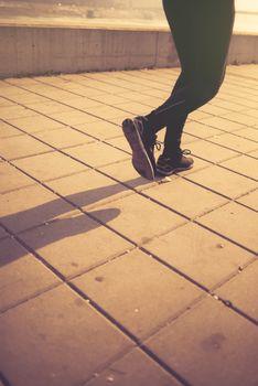 Urban jogging