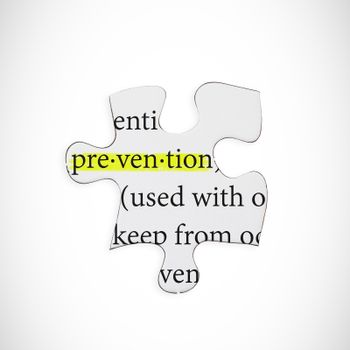 Composite image of prevention