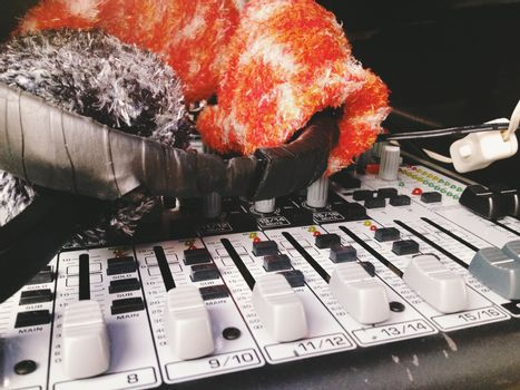 Controlled Digital Mixing Console