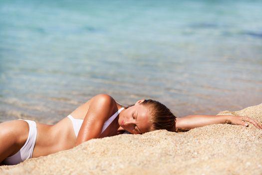 Enjoyment On The Beach