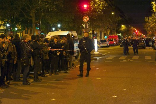 FRANCE - PARIS - ATTACK