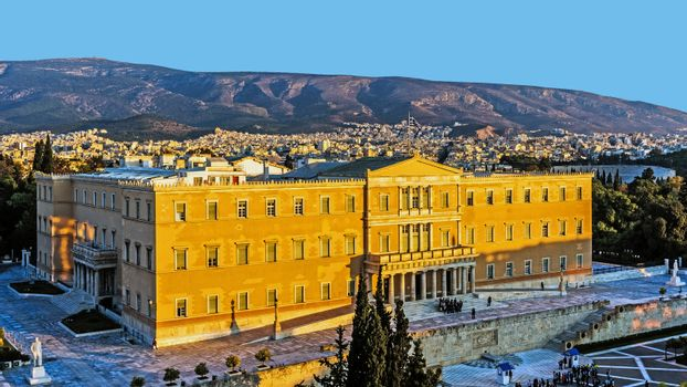 The Presidential Mansion in Athens