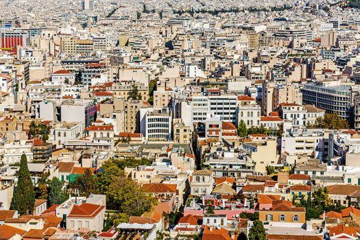 Panorama of  Athens
