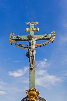 Ancient sculpture of Jesus Christ