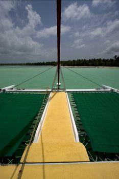 tropical lagoon catamaran navigable   in  dominicana