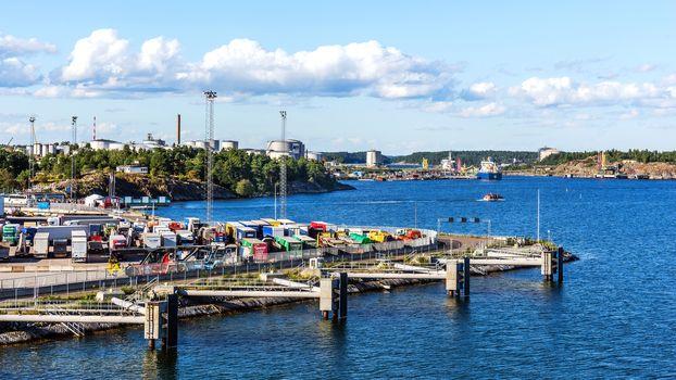 The Port of Nynashamn