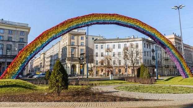 The Rainbow, art installation
