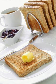 toasted bread
