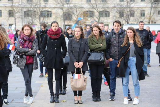 FRANCE - PARIS - ATTACKS - TRIBUTE