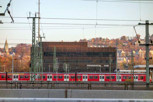Stuttgart main railway station
