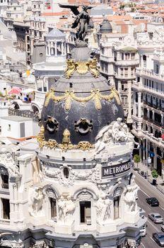 Metropolis building facade