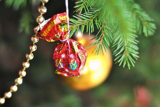 Christmas tree ornaments for Christmas