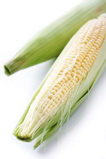 fresh sweetcorn cob