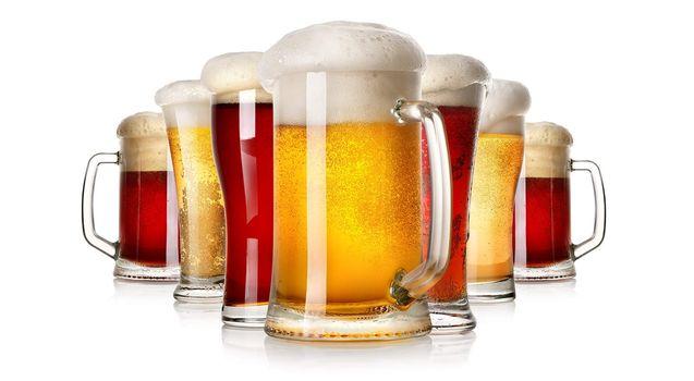 Lots of beer
