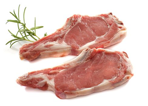 veal meat chop