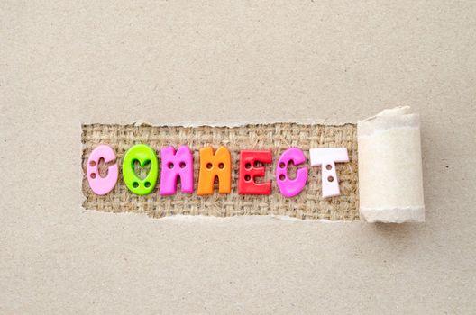 Connect concept.