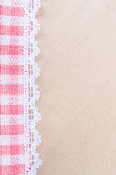 Scott fabric. beautiful plaid pattern on wood texture.