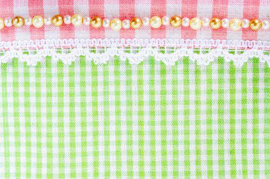 Scott fabric. plaid pattern