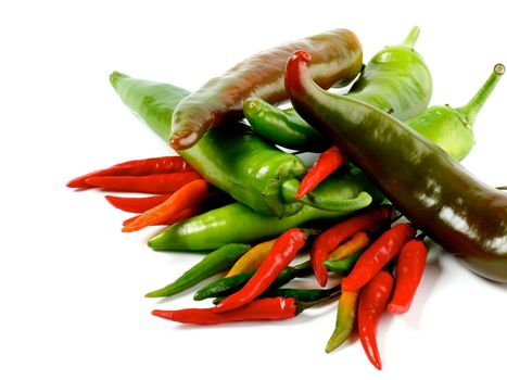 Arrangement of Chili Peppers
